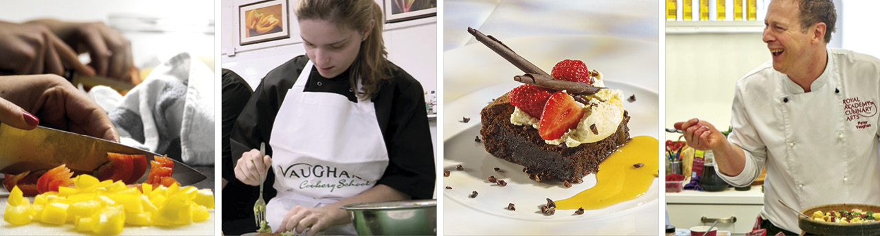 Professional Culinary Skills chef course at Vaughan's Cookery School
