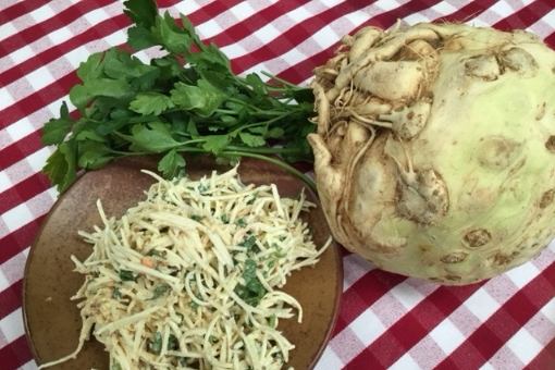 celeriac remoulade from Vaughan's Kitchen