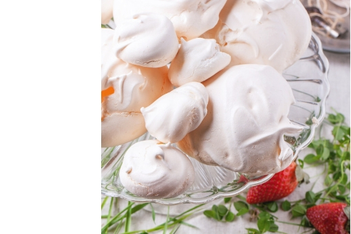 Vegan Meringues & coconut cream from Vaughan's Kitchen