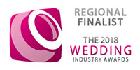 2018 Regional finalists Wedding Industry Awards