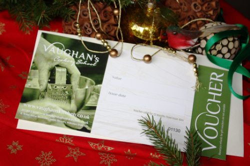 Vaughan's cookery school gift voucher